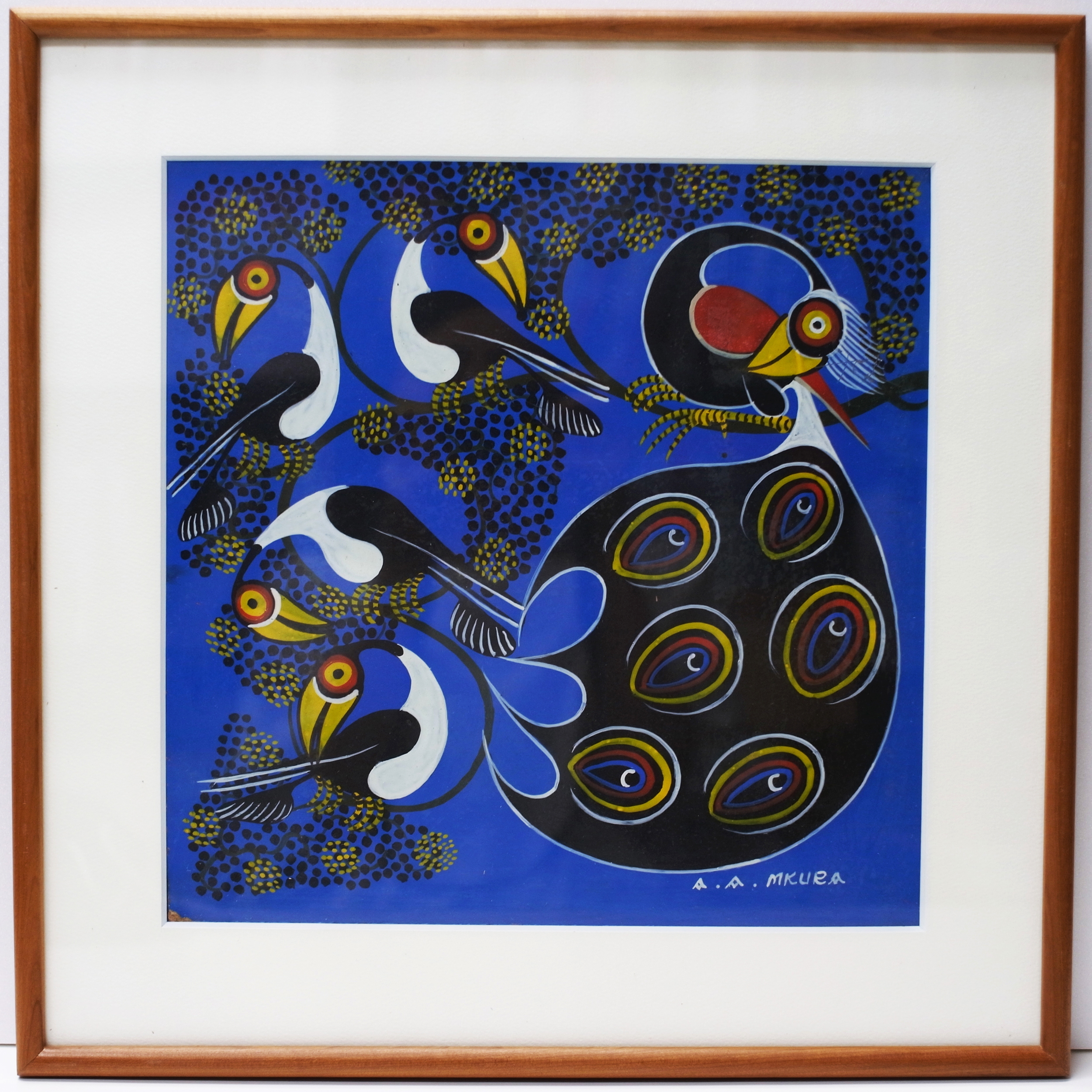Flock Of Birds  (300×300 Framed)